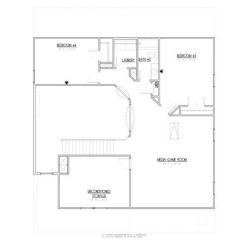 Bailey House Plan - 2nd Floor