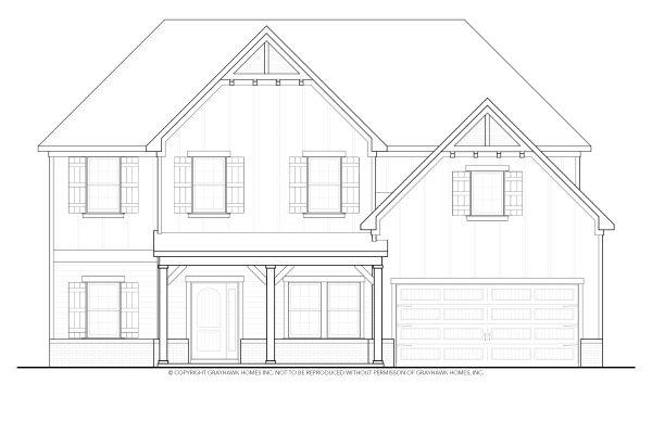 Bedford Arts & Crafts House Plan