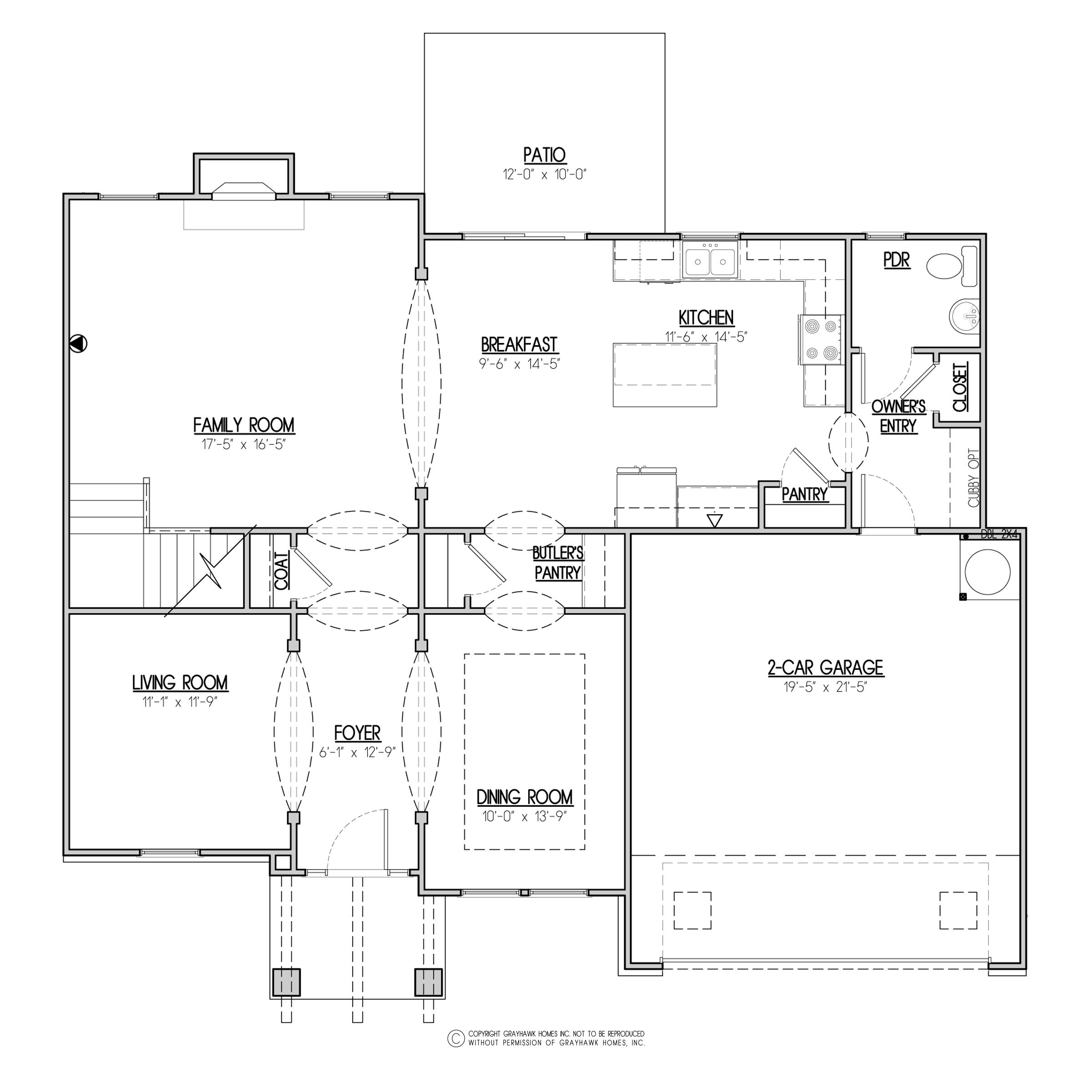 Bedford Craftsman 1st Floor