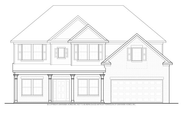 Bedford Traditional House Plan