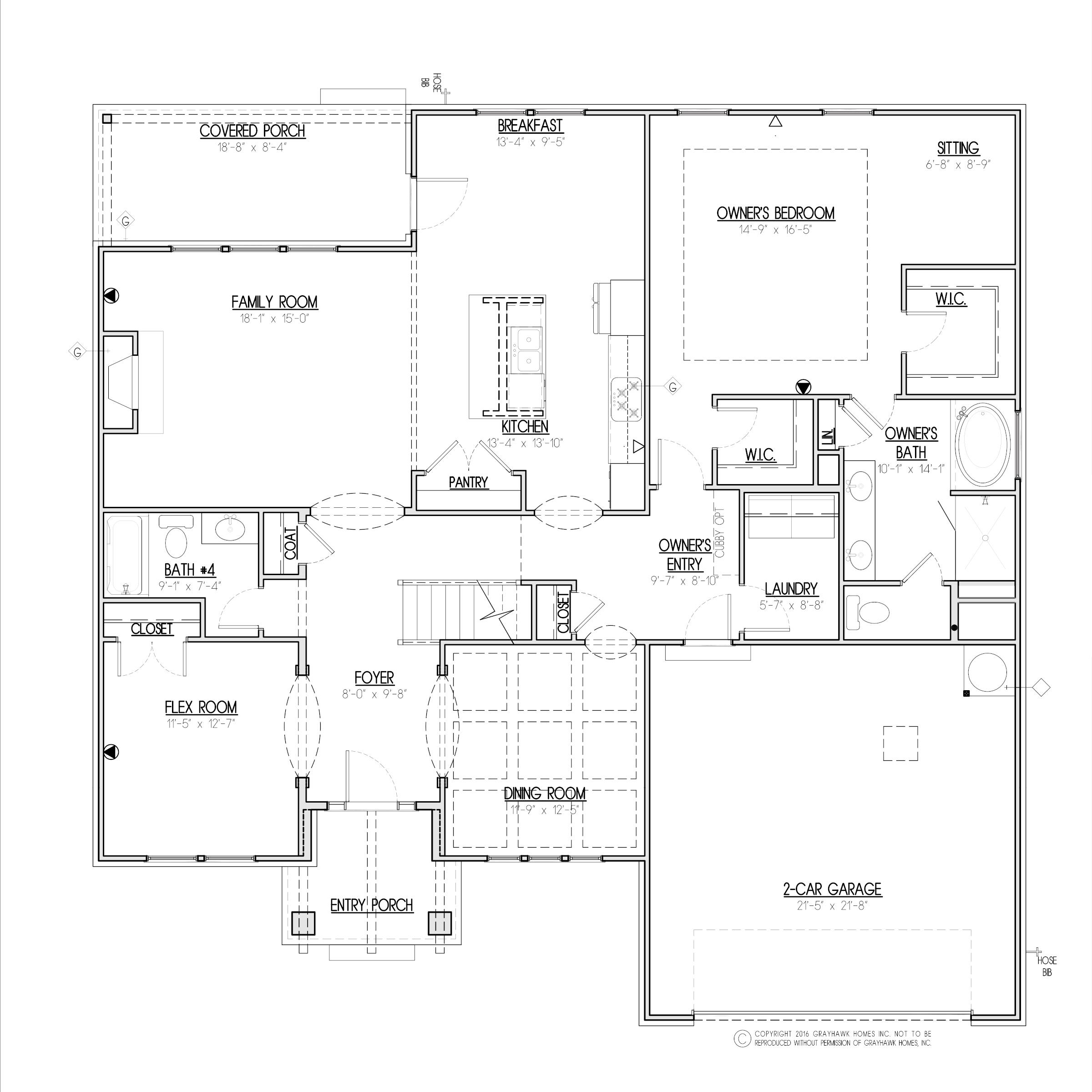 Grouse Craftsman 1st Floor