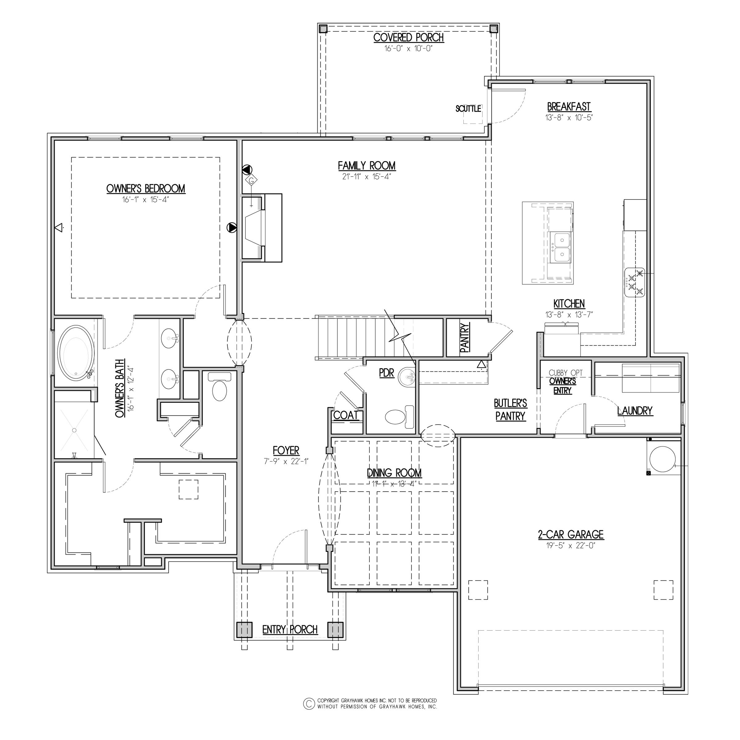 Kingfisher Craftsman 1st Floor