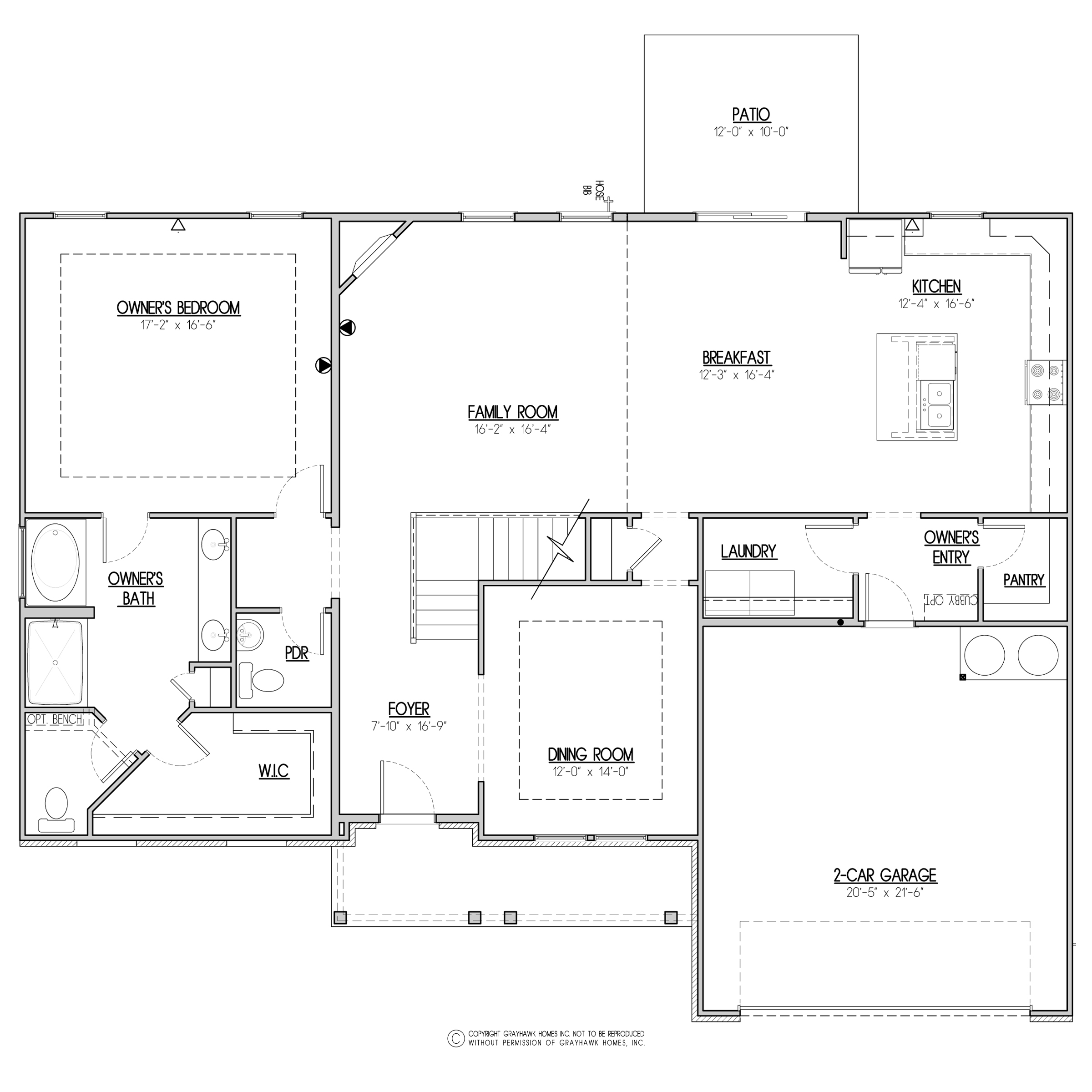 Holley Brooke Traditional 1st Floor