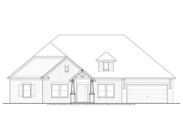 Poplar Craftsman House Plan