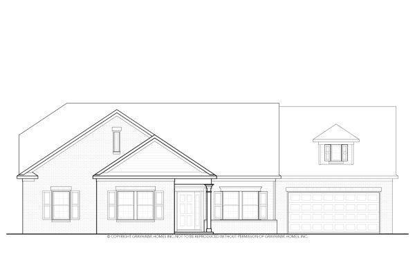 Poplar Traditional House Plan