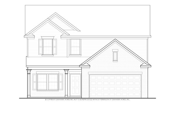 Longleaf Traditional 2 Story House Plans