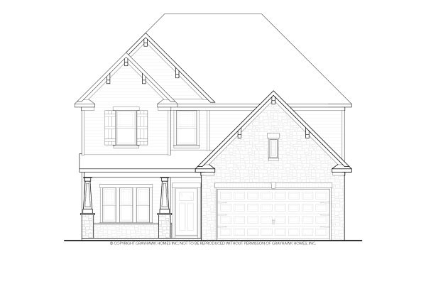 Longleaf Craftsman 2 Story House Plans
