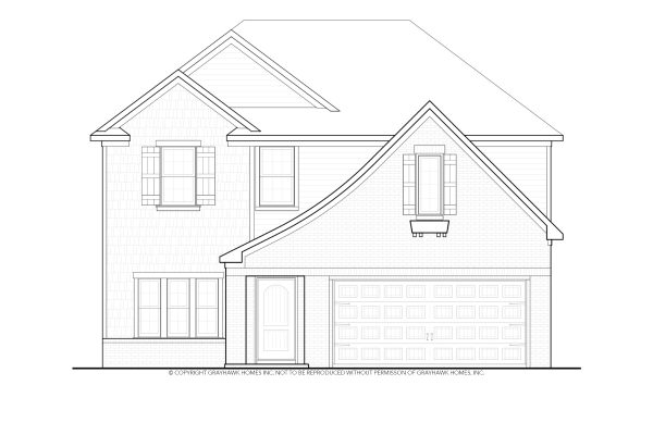 Longleaf Euro 2 Story House Plans