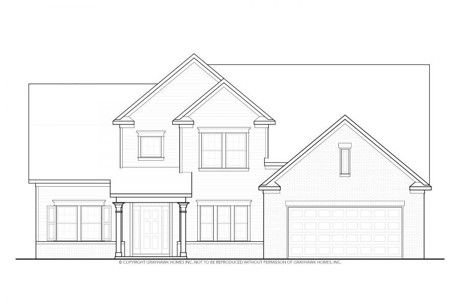 Alder Floor Plan Grayhawk Homes