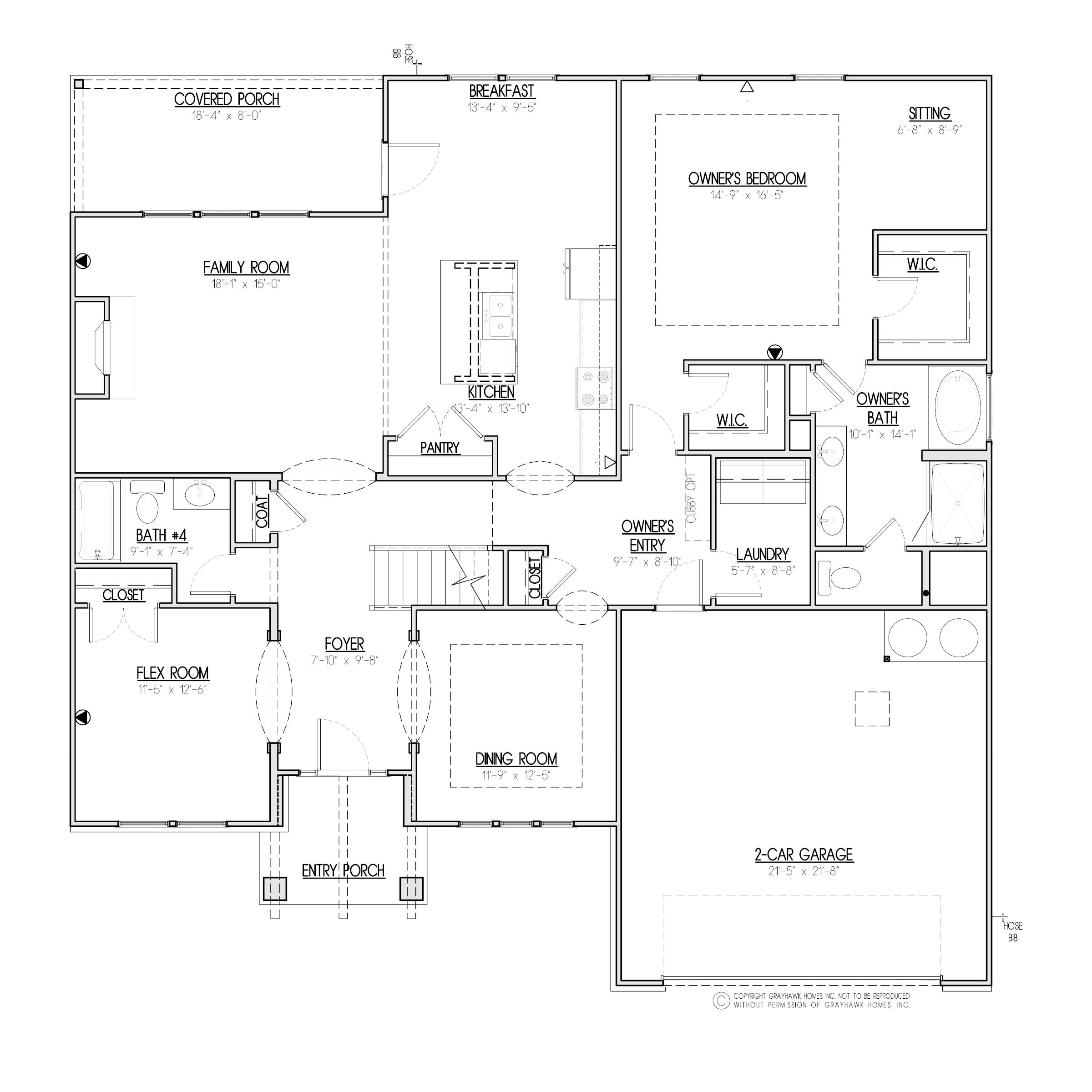 Alder Craftsman 1st Floor