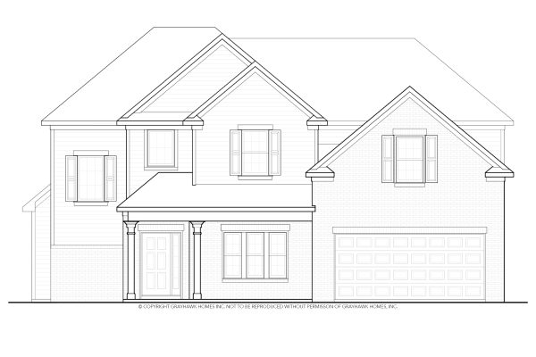 Chestnut Traditional House Plan