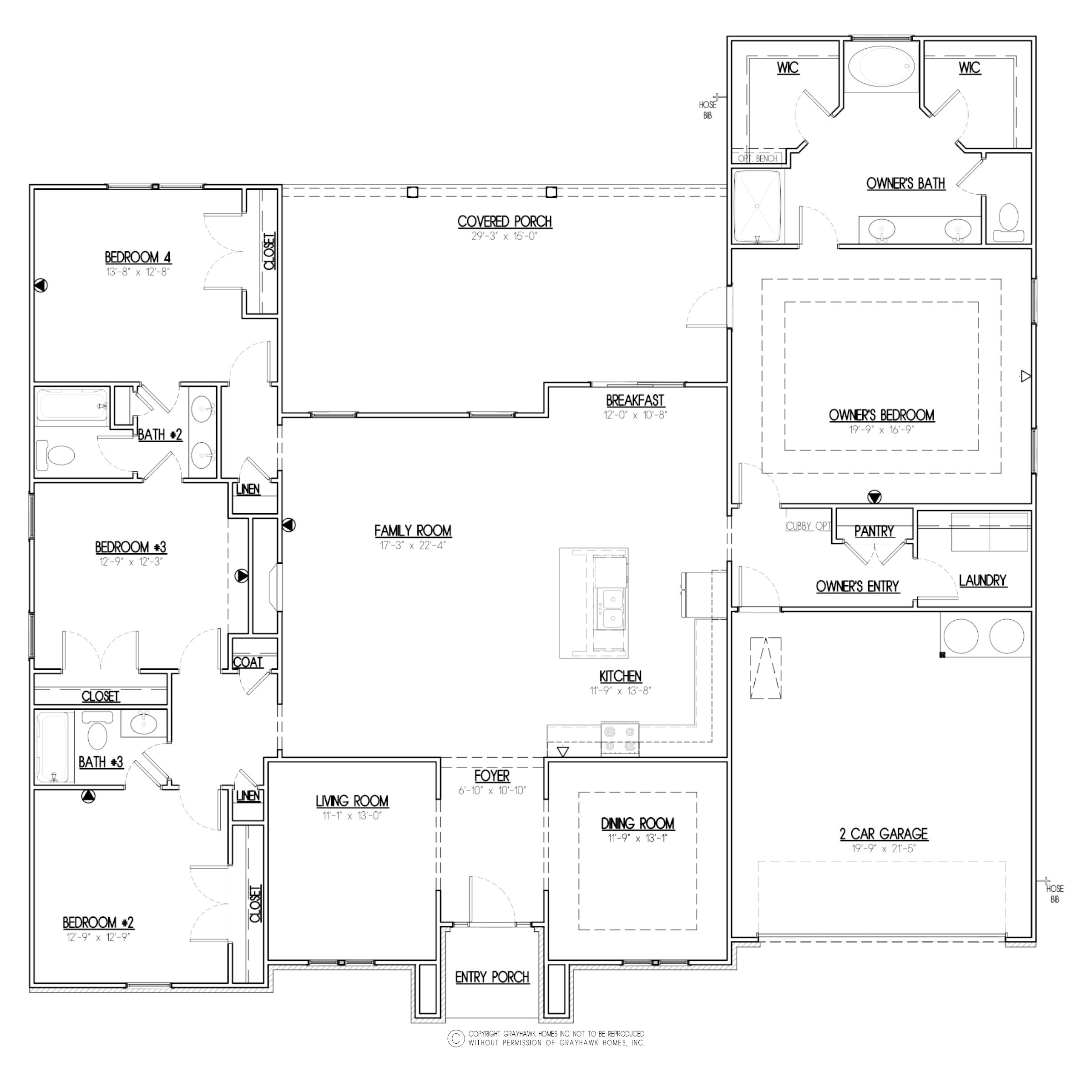 Meadow Creek Euro Floor Plan