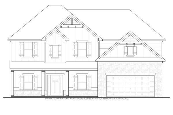 Laurel Arts & Crafts East House Plan
