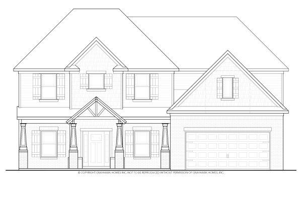 Laurel Craftsman House Plan