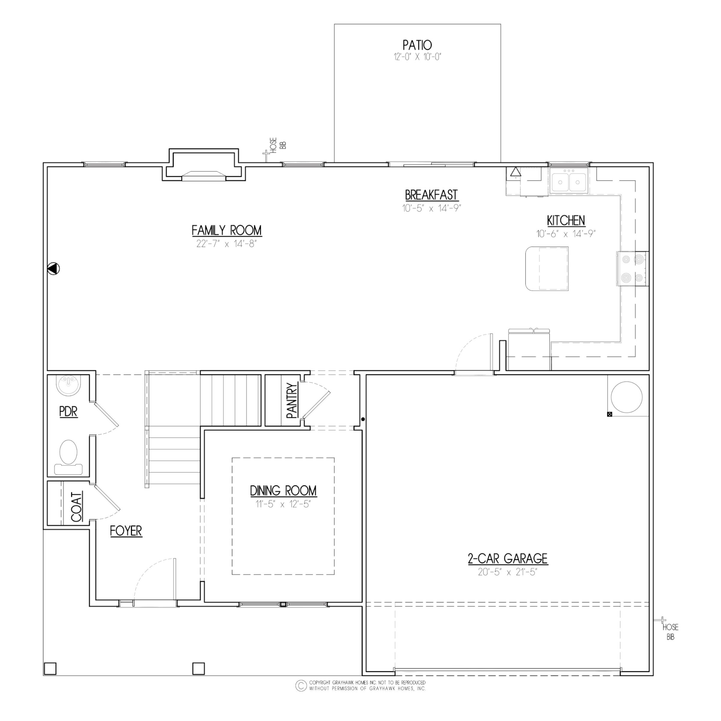 Birch A&C East 1st Floor Plan