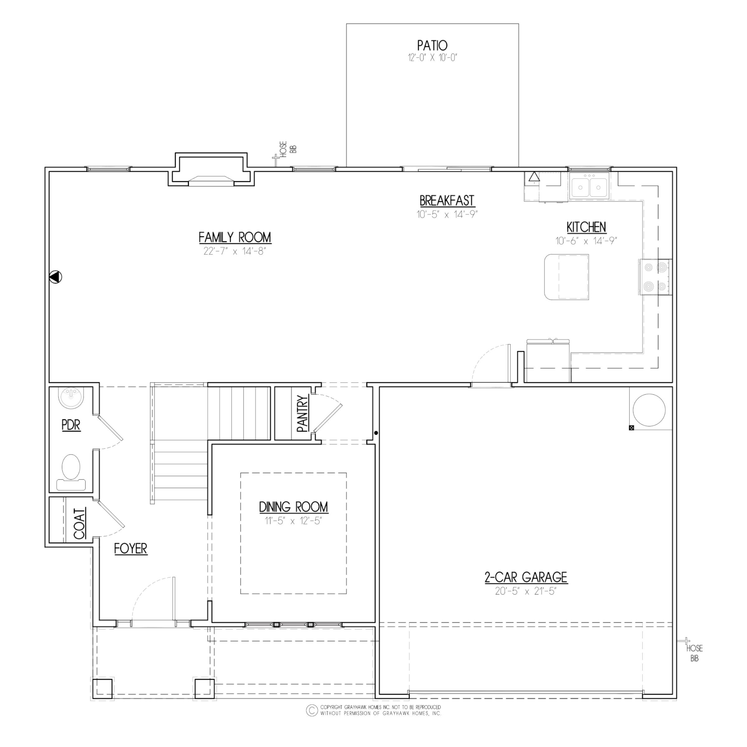 Birch A&C West 1st Floor Plan