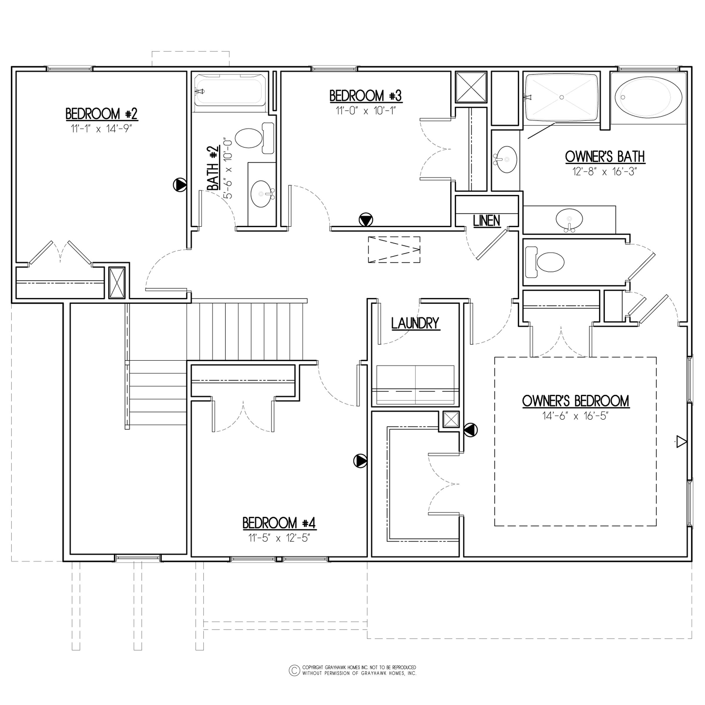 Birch Craftsman 2nd Floor