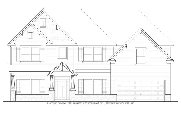 Elmwood Craftsman House Plan