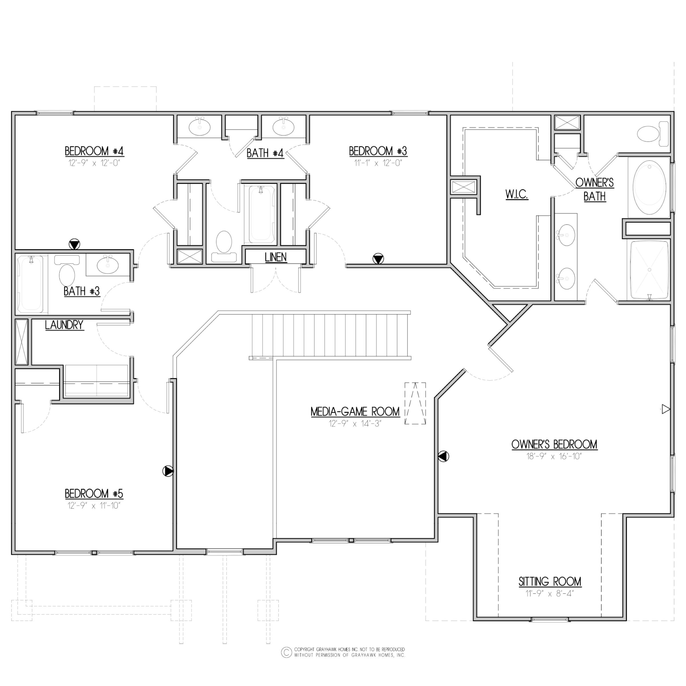 Elmwood Craftsman 2nd Floor