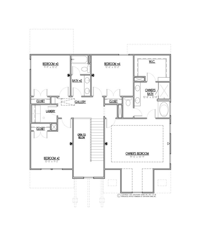 Sycamore Craftsman 2nd Floor