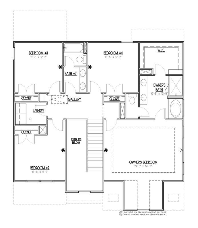 Sycamore Traditional 2nd Floor
