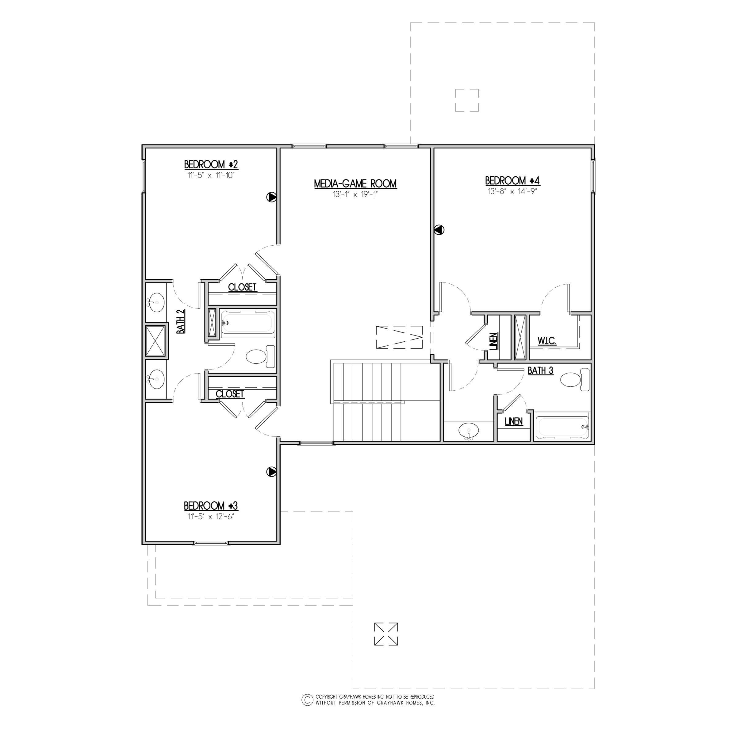 Baywood Craftsman 2nd Floor