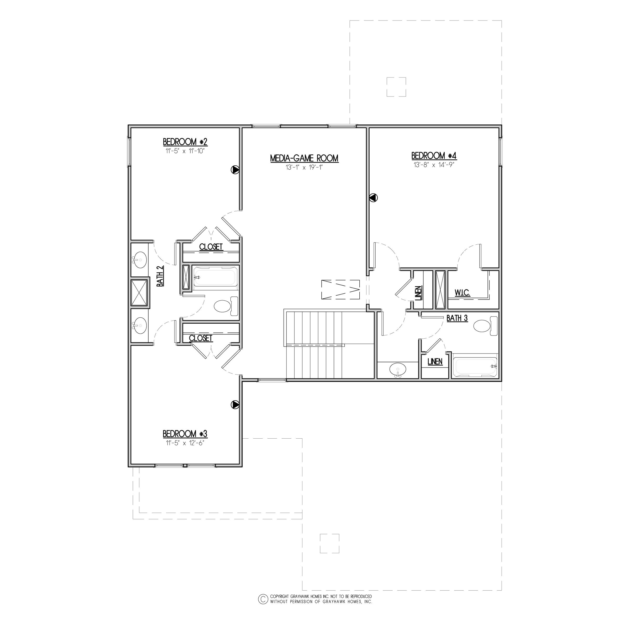 Baywood Traditional 2nd Floor