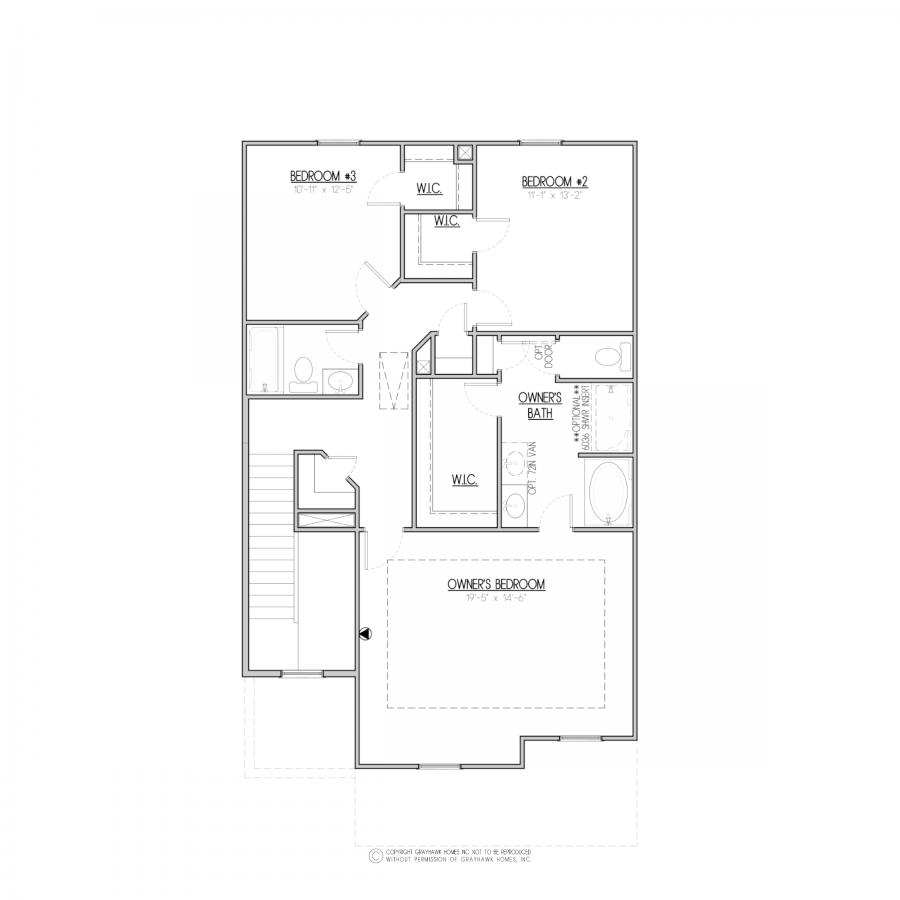 Bartlett Floor Plan Grayhawk Homes