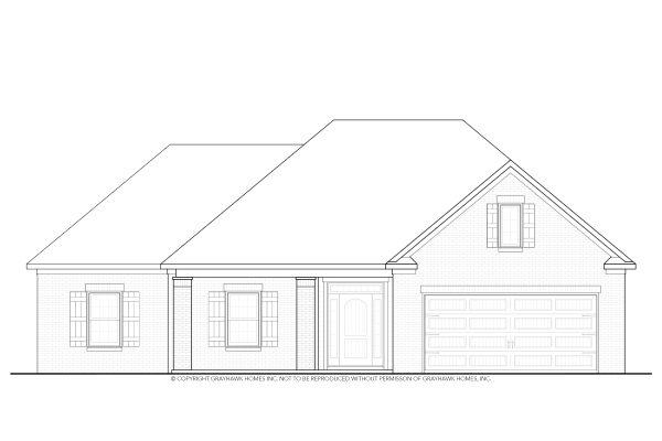 Boston II Euro Single Story House Plans