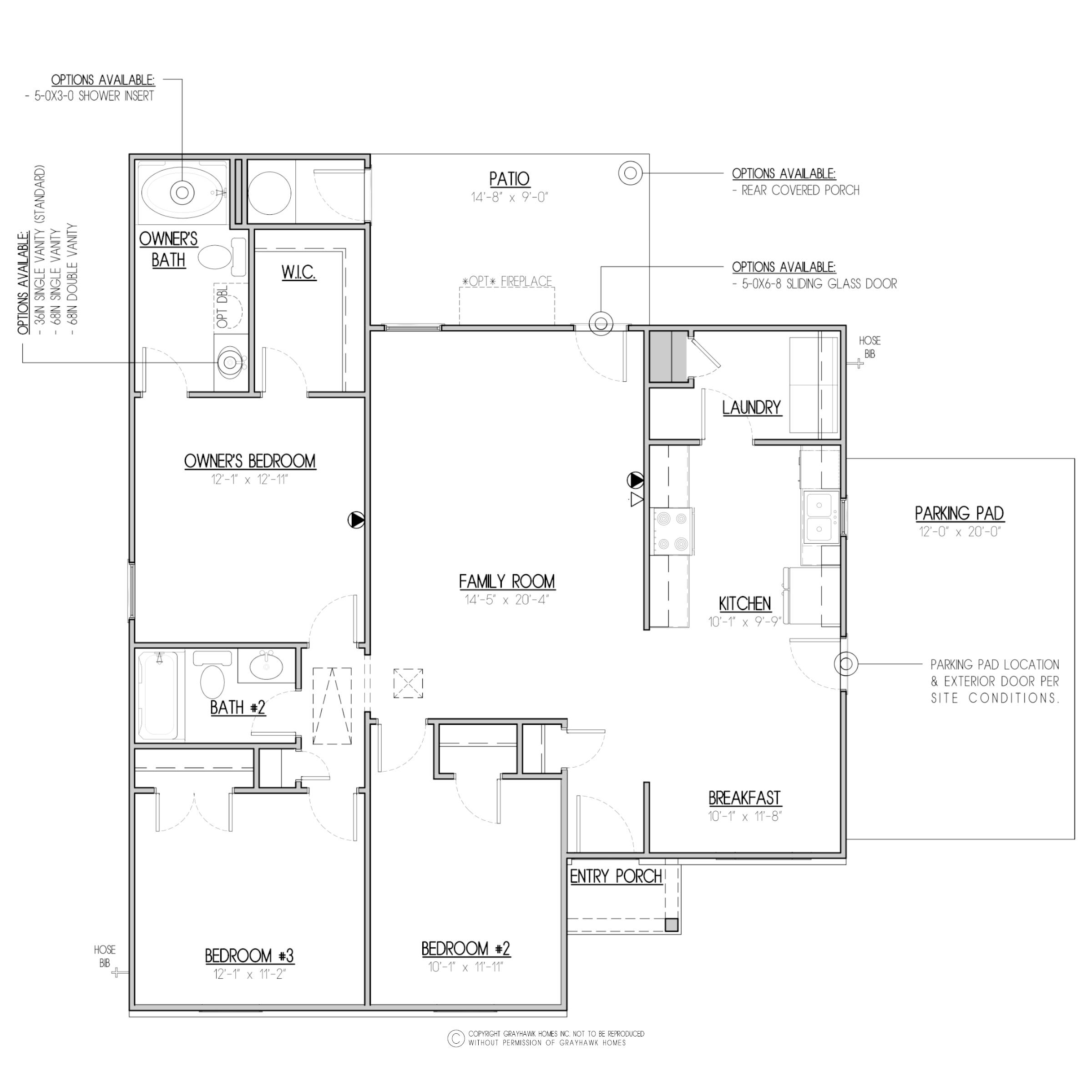 RH Sterling Floor Plan